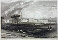 Woolwich, Royal Artillery Barracks, W H Bartlett 1829 LMA.jpg