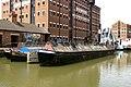 Working Narrowboats National Waterways Museum, Gloucester.jpg