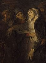 Workshop of Rembrandt van Rijn - The Descent from the Cross (National Gallery of Art) (cropped to show women).jpg