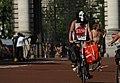 World Naked Bike Ride in London on The Mall, June 2013 (17).JPG