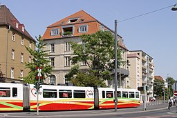 Berliner Platz in Würzburg