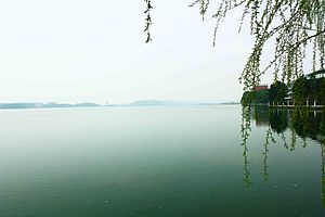 South Lake (Wuhan) - Image: Wuhan South Lake in SCUEC