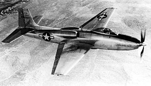 Consolidated Vultee XP-81 - Image: XP 81