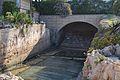 Xalet del ministre o finca de San Rafael de Xàbia, bassa excavada.JPG