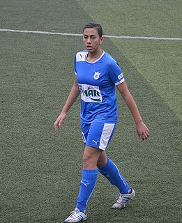 Yaşam Göksu Turkish woman footballer