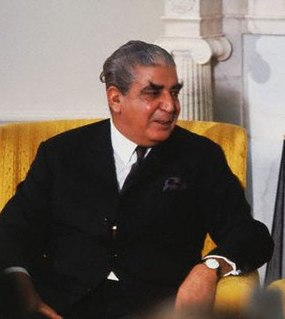 Yahya Khan former Pakistani president (1917-1980)