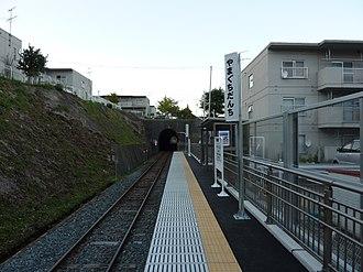 Yamaguchi Danchi Station - Yamaguchi Danchi Station in October 2010