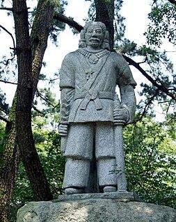 Shinto shrine in Shizuoka Prefecture, Japan