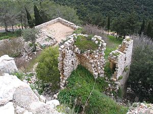 Yehiam - Yehi'am fortress