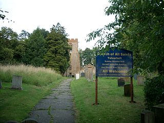 Yelvertoft village in the United Kingdom