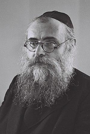 Yitzhak-Meir Levin - Image: Yitzhak Meir Levin
