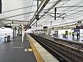 Yodo station platform 20160823 1711.jpg