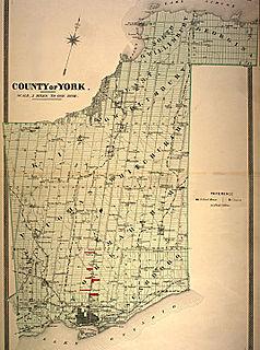 York County, Ontario Dissolved County in Ontario, Canada