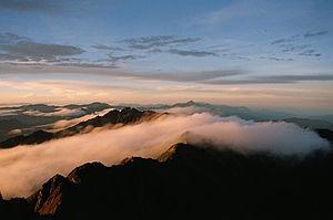 Yushan (mountain) - Image: Yushan Sun Rise Sql Heng