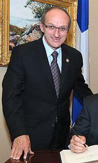 Yvon Vallières Canadian politician
