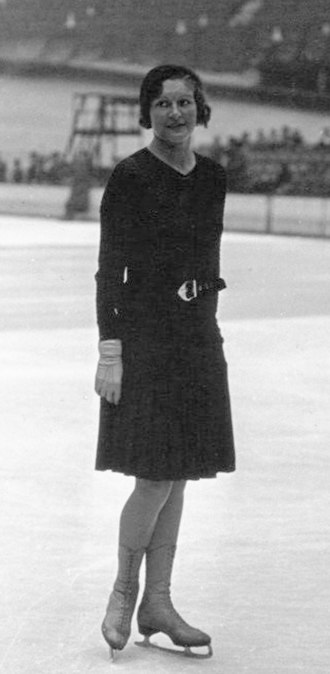 Yvonne de Ligne - Yvonne de Ligne at the 1932 European Championships