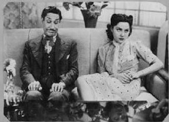 Amelia Bence - Bence teamed with León Zárate in El forastero (1937).