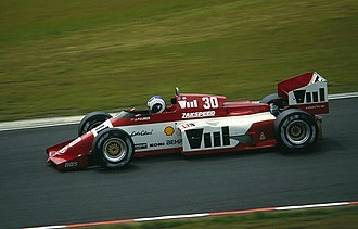 Jonathan Palmer - Palmer driving for Zakspeed at the 1985 German Grand Prix