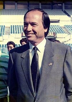President of the club José Ángel Zalba1971/1977-1988/1992