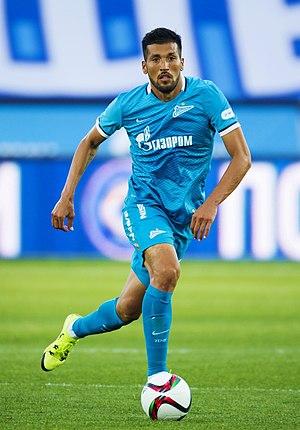 Ezequiel Garay - Garay playing for Zenit in 2015