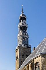 Zicht op de De grote kerk van Hindeloopen. 30-03-2021. (actm) 05.jpg