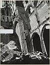 zicht op deel verwoeste hervormde kerk - arnhem - 20319392 - rce
