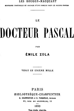 Image illustrative de l'article Le Docteur Pascal