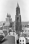 zuidgevel toren tijdens restauratie - maastricht - 20146893 - rce