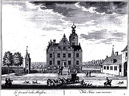 Zuylenstein in 1650