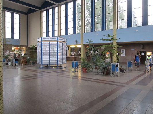 Zvolen osobná railway station