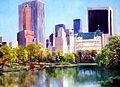 """""""New York, from Central Park"""", Andrei Kushnir.jpg"""