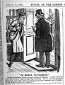 'In Medio Tutissimus', cartoon from Punch, 1874 Wellcome L0002746.jpg