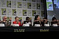 'The Good Place' cast and crew visit San Diego Comic Con for a panel (43768257522).jpg