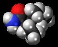 (2R,3S)-Valnoctamide molecule spacefill.png
