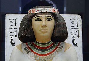 Nofret - Nofret's statue, Cairo Museum