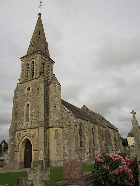 Église Saint-Pierre d'fr:Helleville