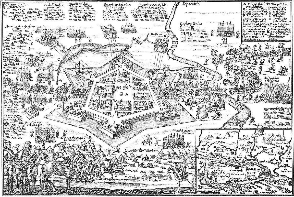 várháborúk térkép Habsburg–török háború (1663–64) – Wikipédia
