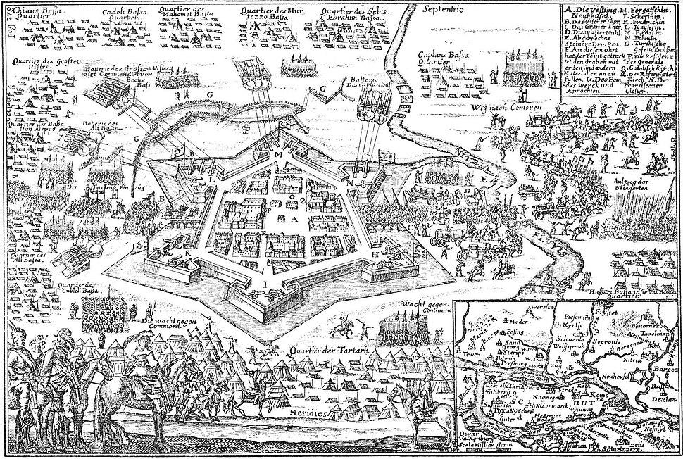 Érsekújvár 1663