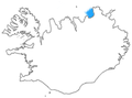 Öxarfjörður location.png
