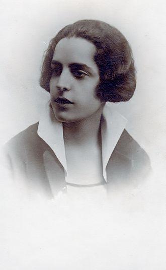 Maria Polydouri - Polydouri in 1918.