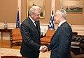 Συνάντηση ΥΠΕΞ Δ. Αβραμόπουλου με Πρέσβη Αλβανίας (7850385894).jpg