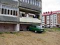 Балкон он же гараж. Костюковичи. Balcony aka garage. Kostukovichi. - panoramio.jpg