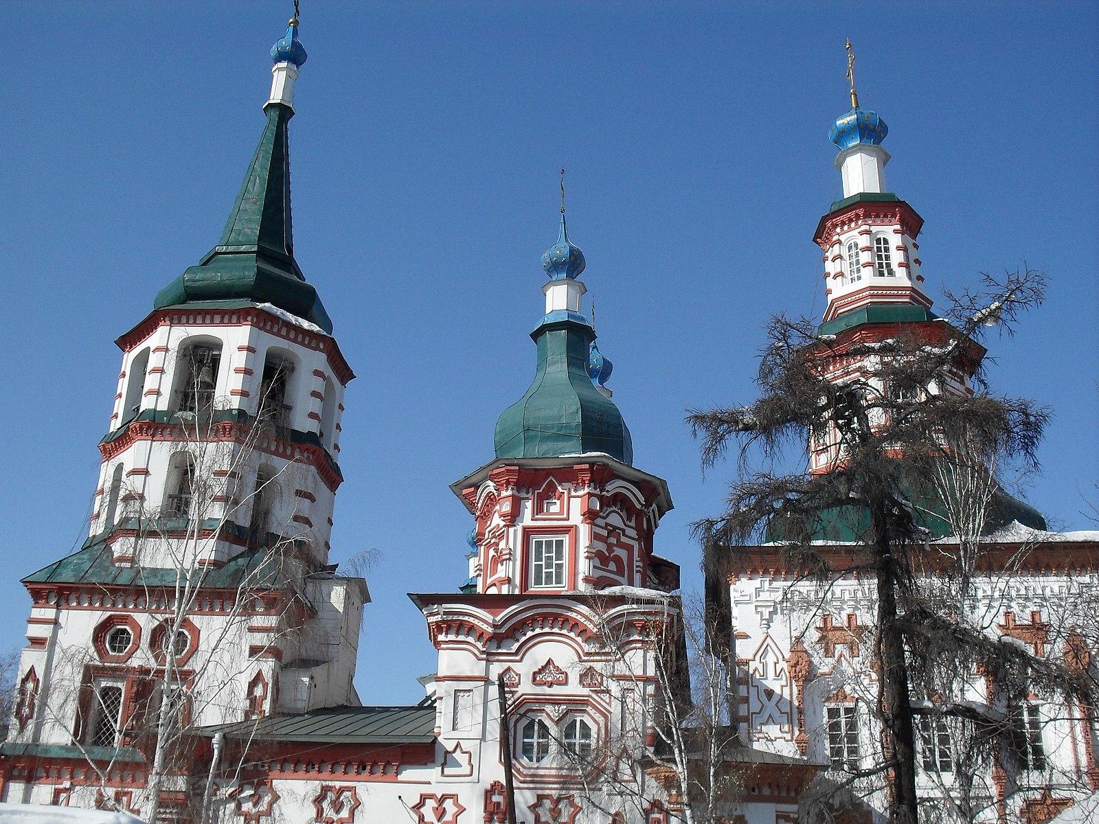 фото крестовоздвиженской церкви в иркутске дома, построенные
