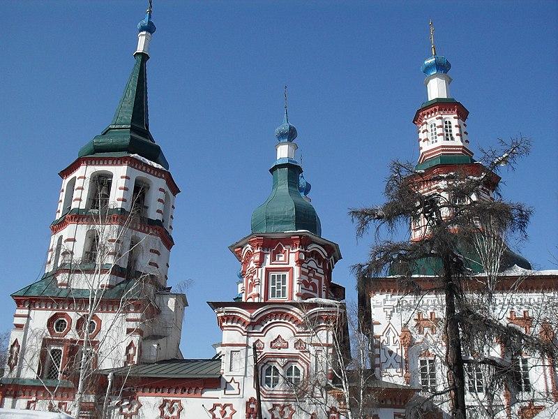 File:Иркутск. Крестовоздвиженская церковь 14.JPG
