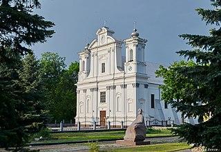 Korostyshiv City in Zhytomyr Oblast, Ukraine