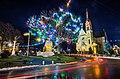 Костел Воздвиження Святого Хреста (Фастів) на Різдво 05.jpg