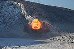 Подрыв обрушенных скальных пород на Бурейском водохранилище 30.jpg