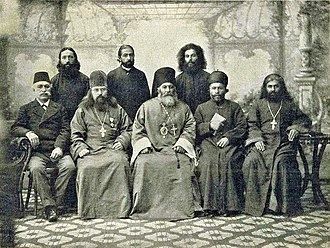 Dioceses of the Church of the East after 1552 - Joining bishop Yonan to the Russian Orthodox Church in 1898. St. Petersburg