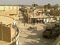 منظر من الأعلى لساحة الحرية في مدينة القورية الحرة.jpg