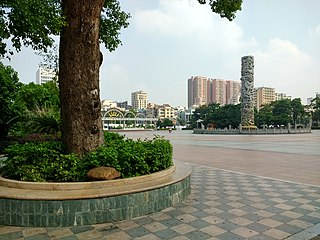 subdistrict of Guangdong Province, China